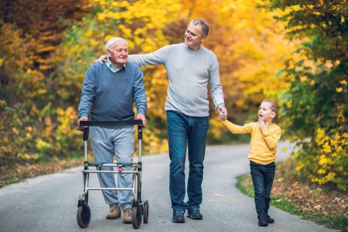 family caregiver - care giving for aging parents