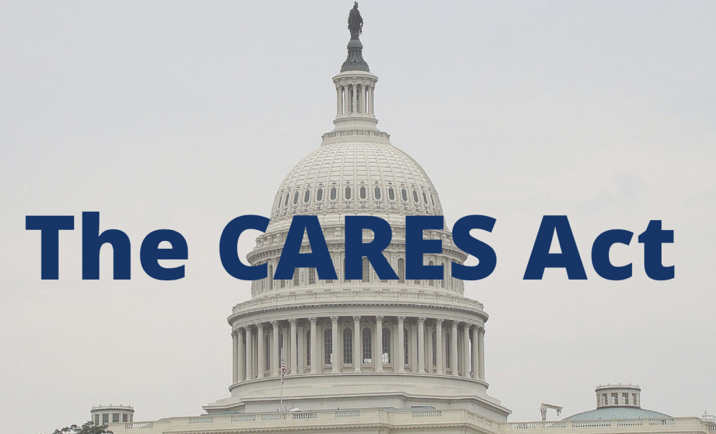 Image of The CARES Act stimulus package small business loans paycheck protection COVID 19  on estate management asset protection law site